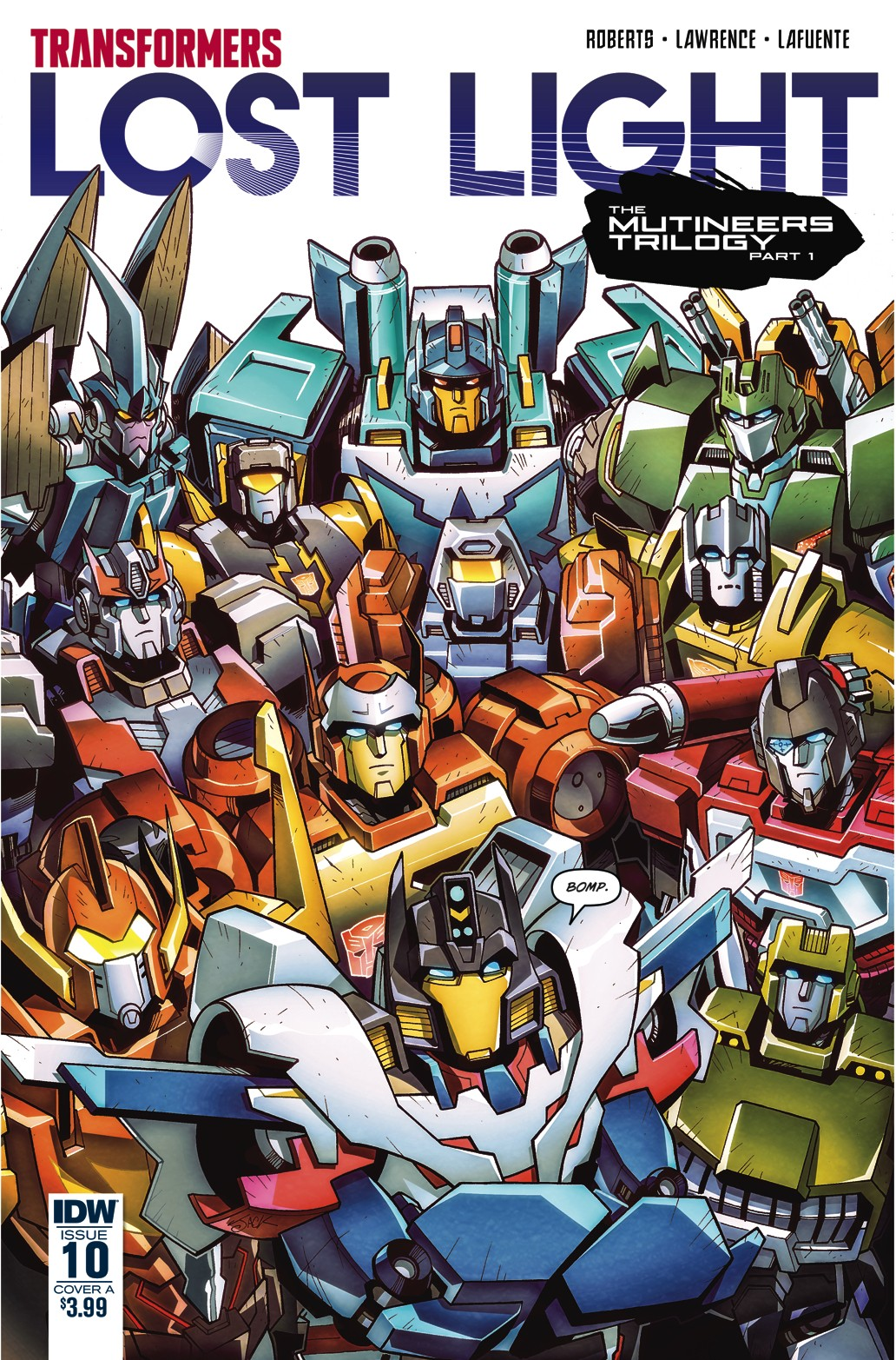Transformers News: Variant Covers for IDW Transformers: Lost Light #10