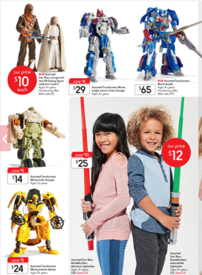 Transformers News: Steal of a Deal: Deals on TLK toys a Australian Kmarts