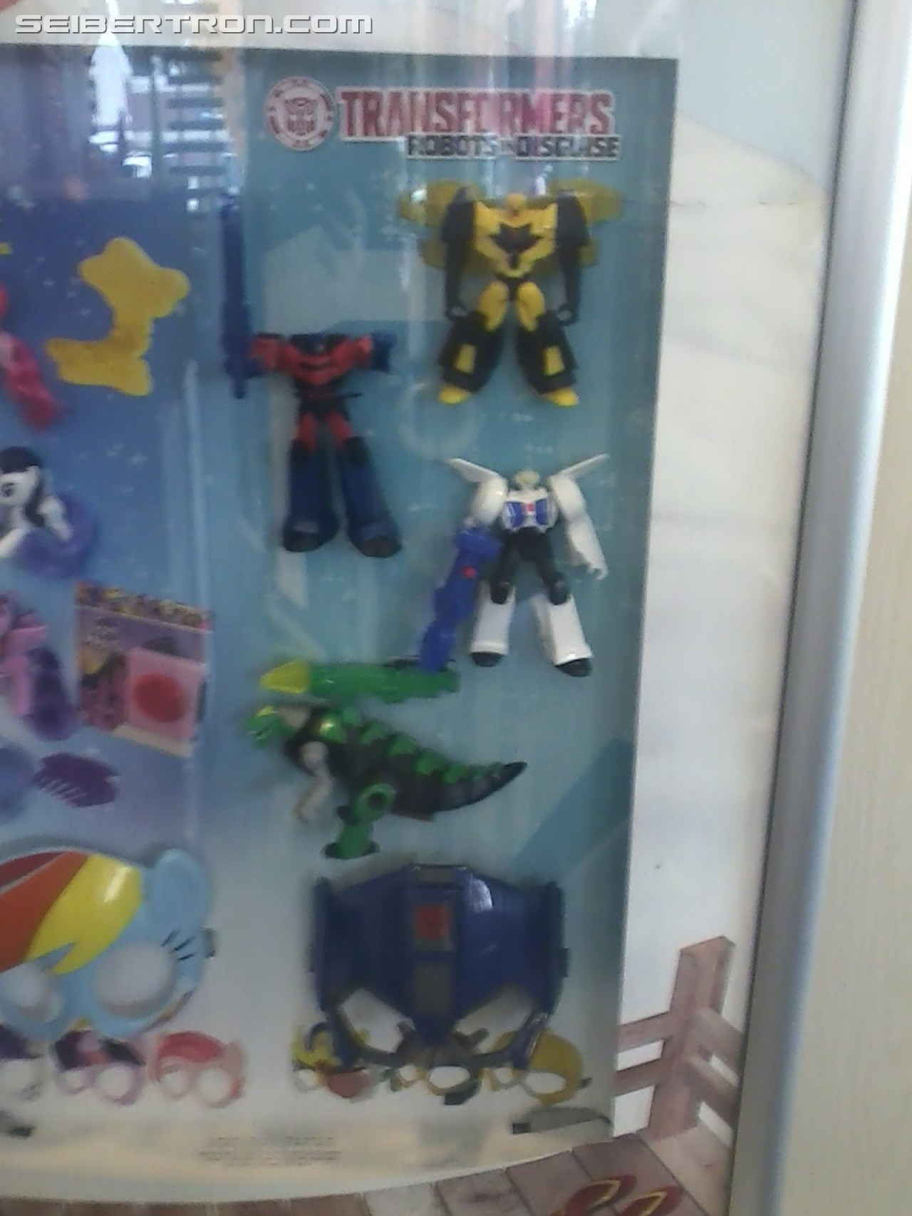 Transformers News: New McDonalds Happy Meal Robots in Disguise Toys in hand images