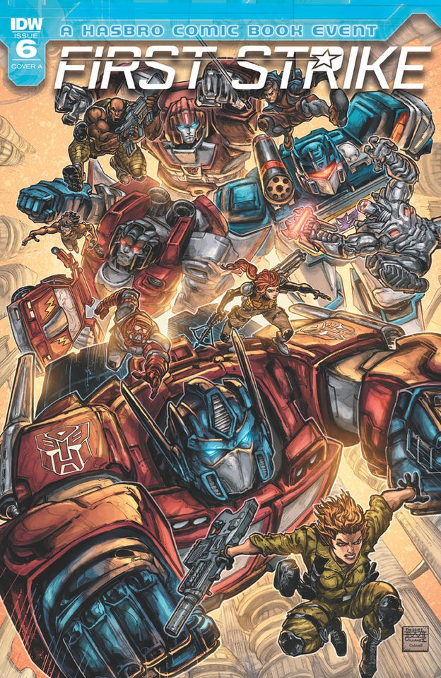 Transformers News: Full Preview for IDW Transformers: First Strike #6