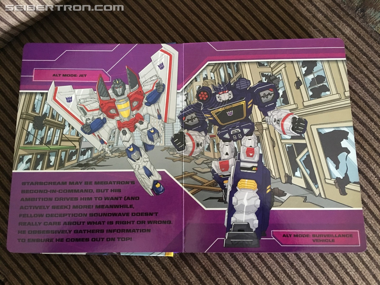 Transformers News: Transformers Busy Book sighted at US retail