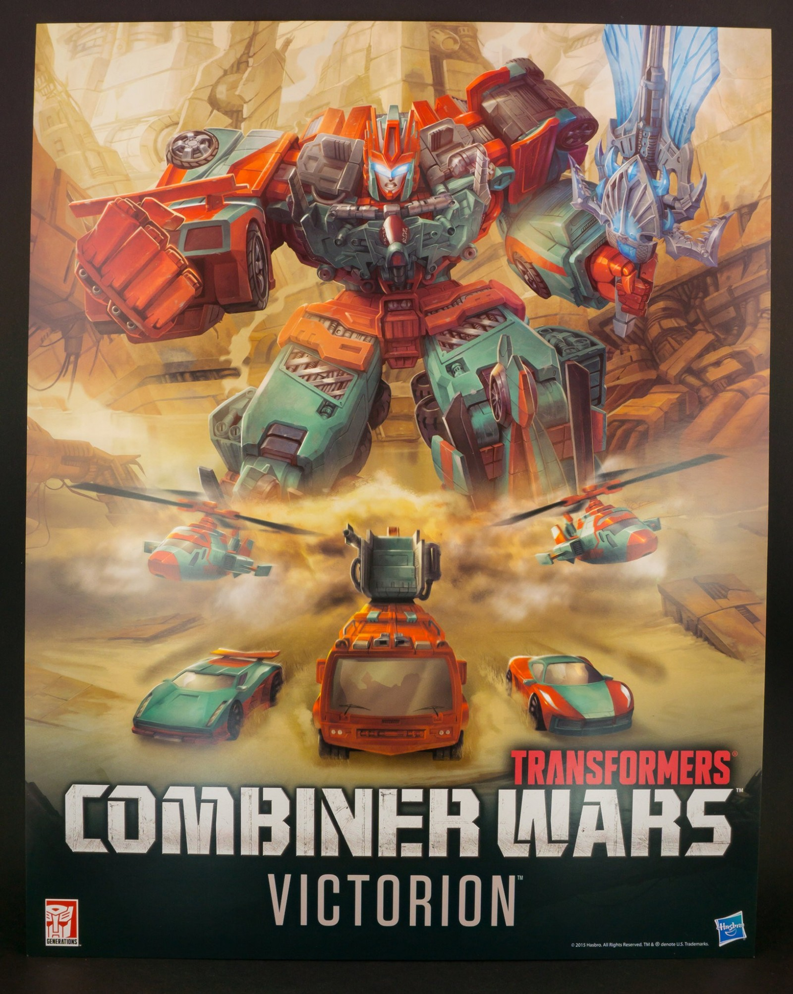 Transformers News: Transformers Combiner Wars Concept Art of Victorion by Marcelo Matere