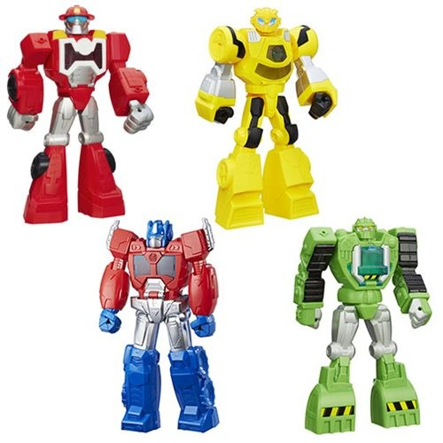 Transformers News: New Transformers: Rescue Bots Toys Listed On Entertainment Earth!
