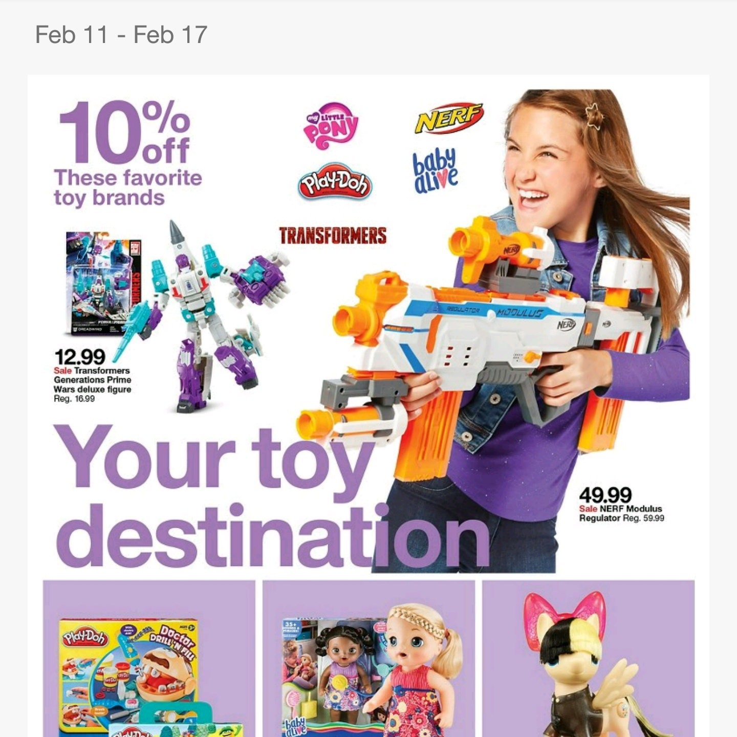 Transformers News: Steal of a Deal: 10% off Transformers Toys In Store 2/11 Through 2/17