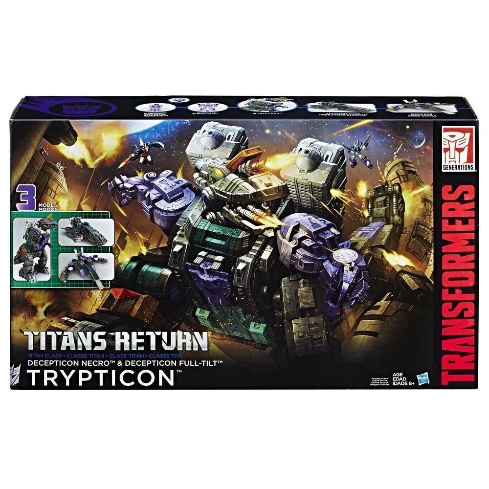 Transformers News: Steal of a Deal: 50% off Transformers Titans Return Trypticon!