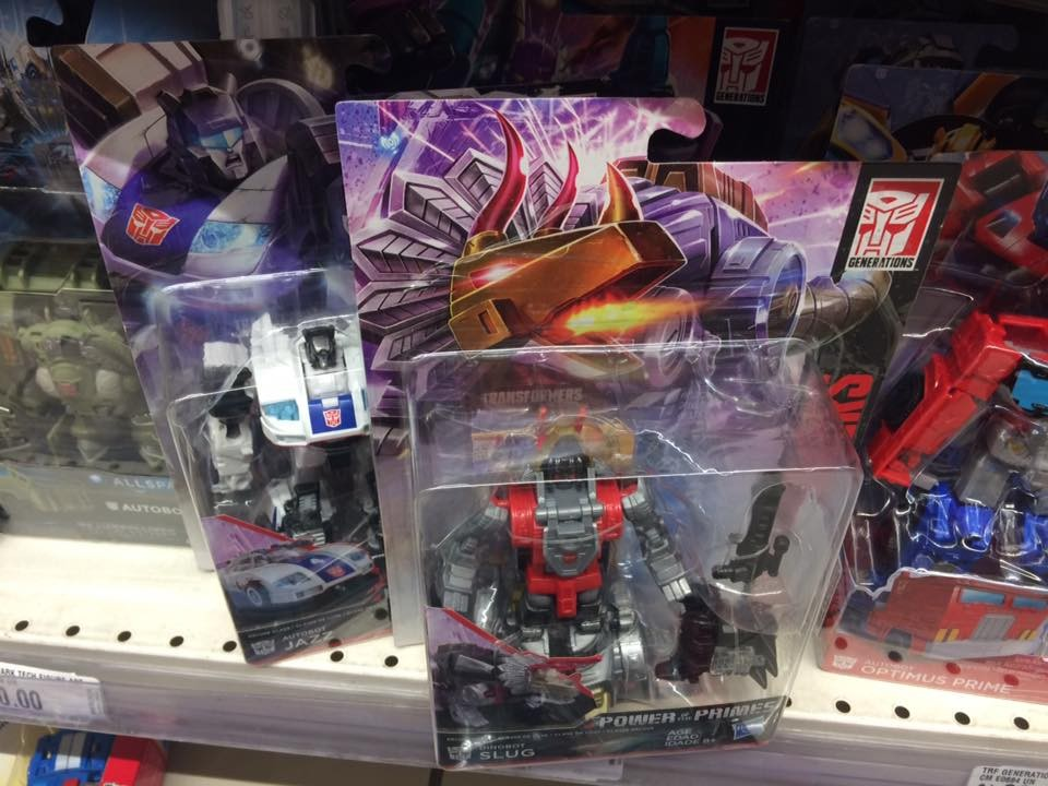 Transformers News: Transformers: Power of The Primes Figures Sighted in Peru!