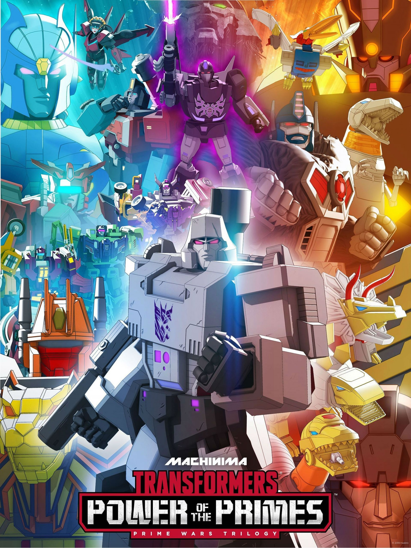 Transformers News: Machinima's Power Of The Primes Poster Is Now Complete