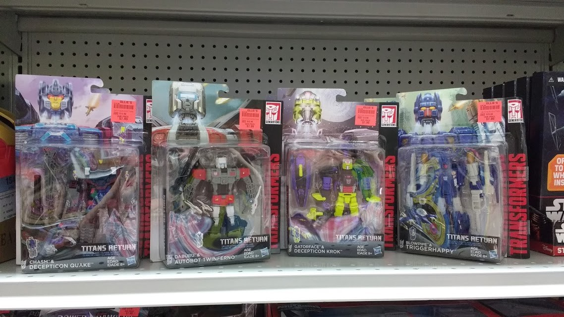 Transformers News: Steal of a Deal: Titans Return Deluxe Class Figures Discounted at Ollie's