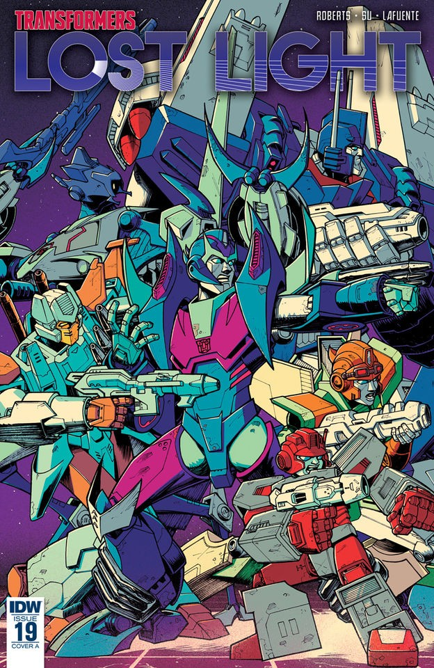 Transformers News: Transformers: Lost Light #19 iTunes Preview