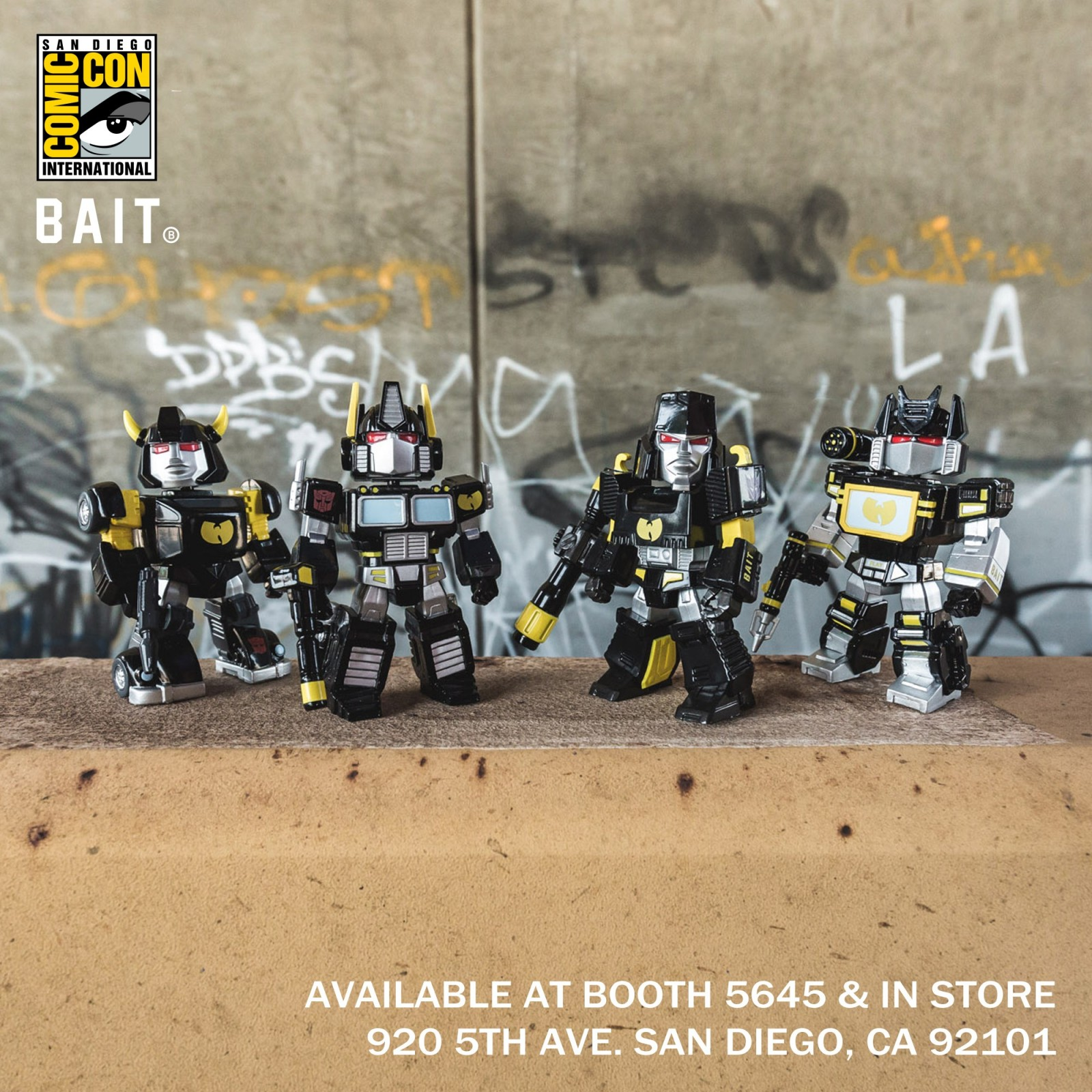 Transformers News: Image of BAIT Transformers San Diego Comic-Con Exclusive Figures Released #SDCC2018