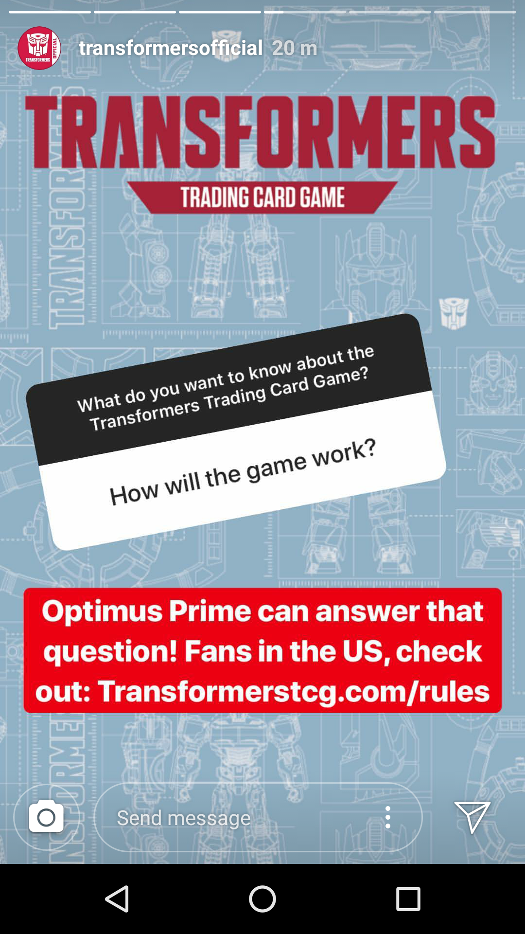 Transformers News: Q&A on the Transformers Trading Card game Instagram and Shockwave Alt mode reveal