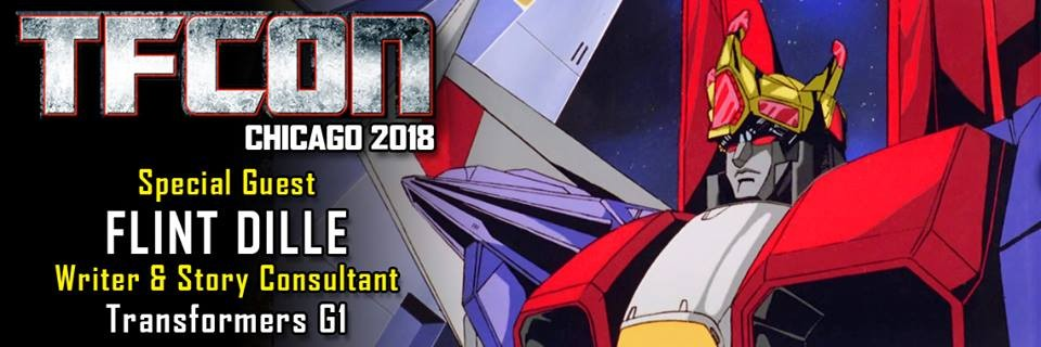 Transformers News: Flint Dille to attend TFCon USA 2018