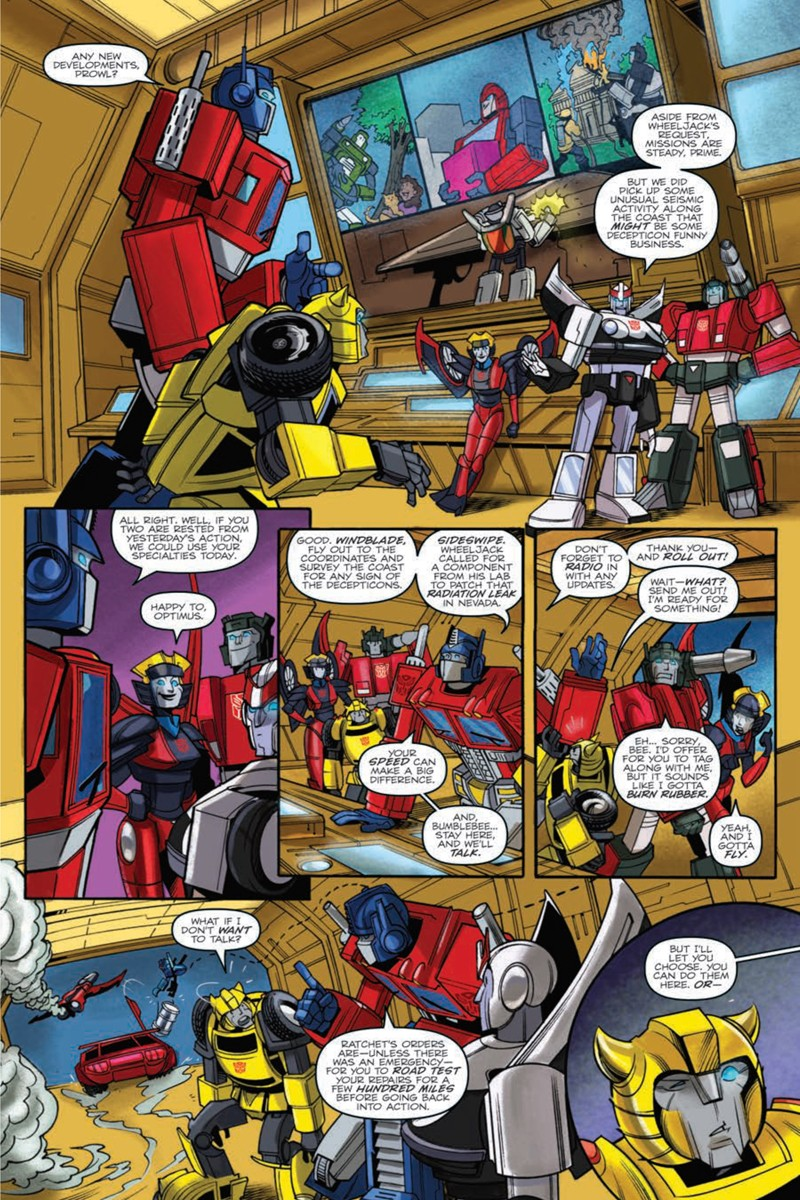 Transformers News: IDW Transformers: Bumblebee - Win if you Dare Graphic Novel Full Preview