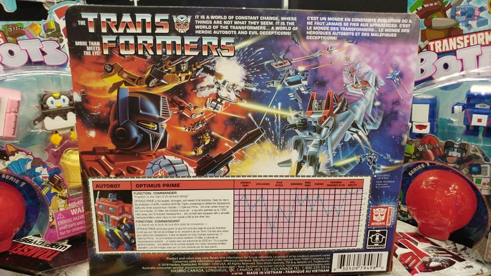 Transformers News: RUMOR: Vintage G1 Transformers Optimus Prime Release Coming Soon!?
