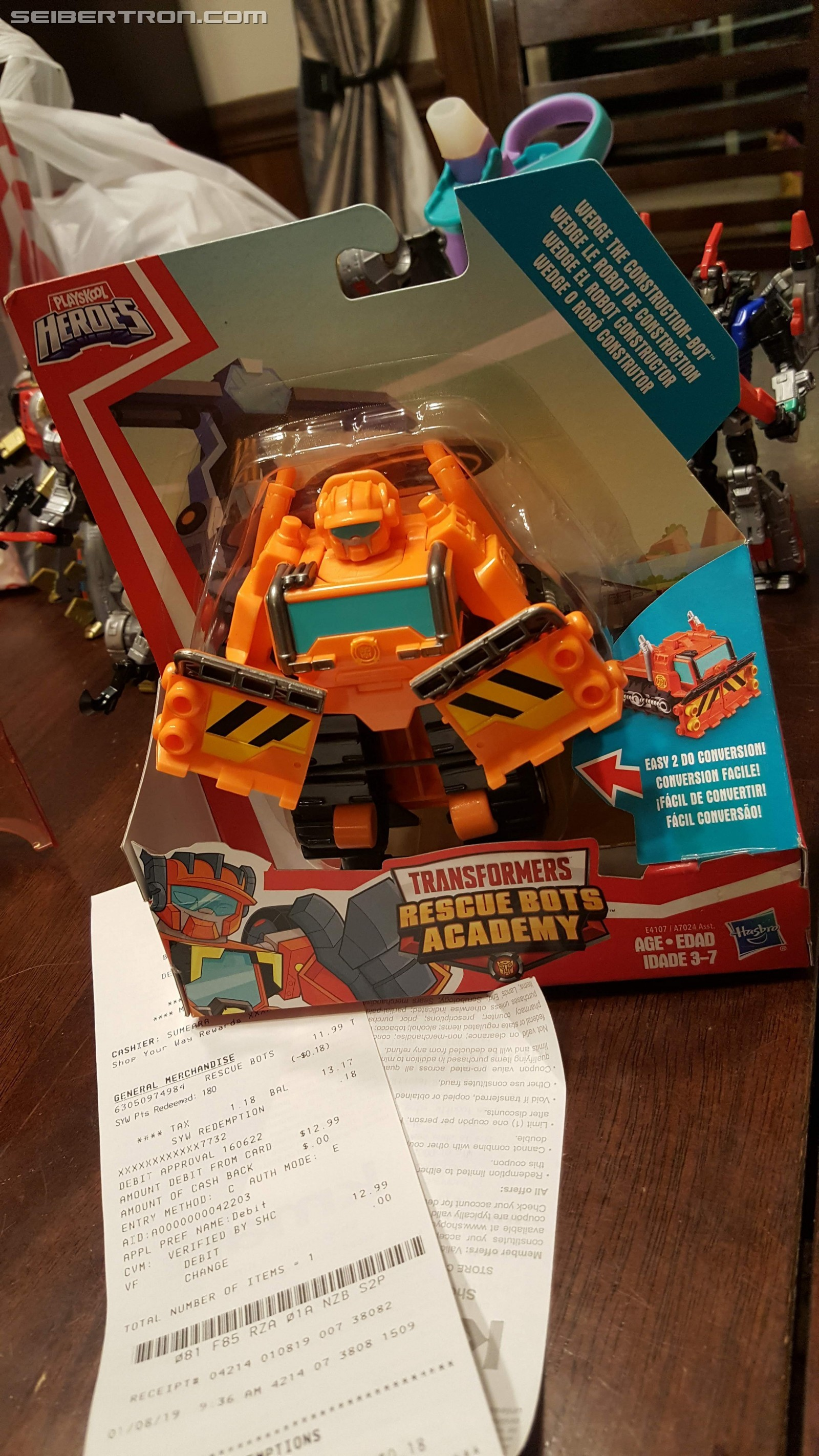 Transformers News: New Rescue Bots Academy figures found at retail