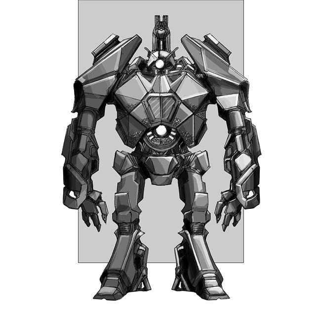 Transformers News: 2007 Transformers: the Game concept art shown off by Ken Christiansen