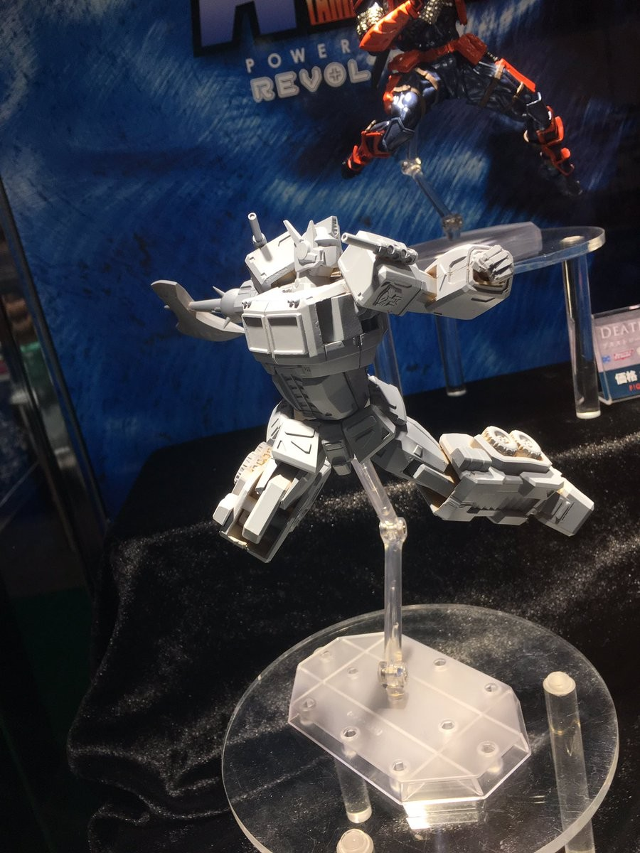 Transformers News: New Revoltech Optimus Prime revealed at Wonder Festival 2019 Winter