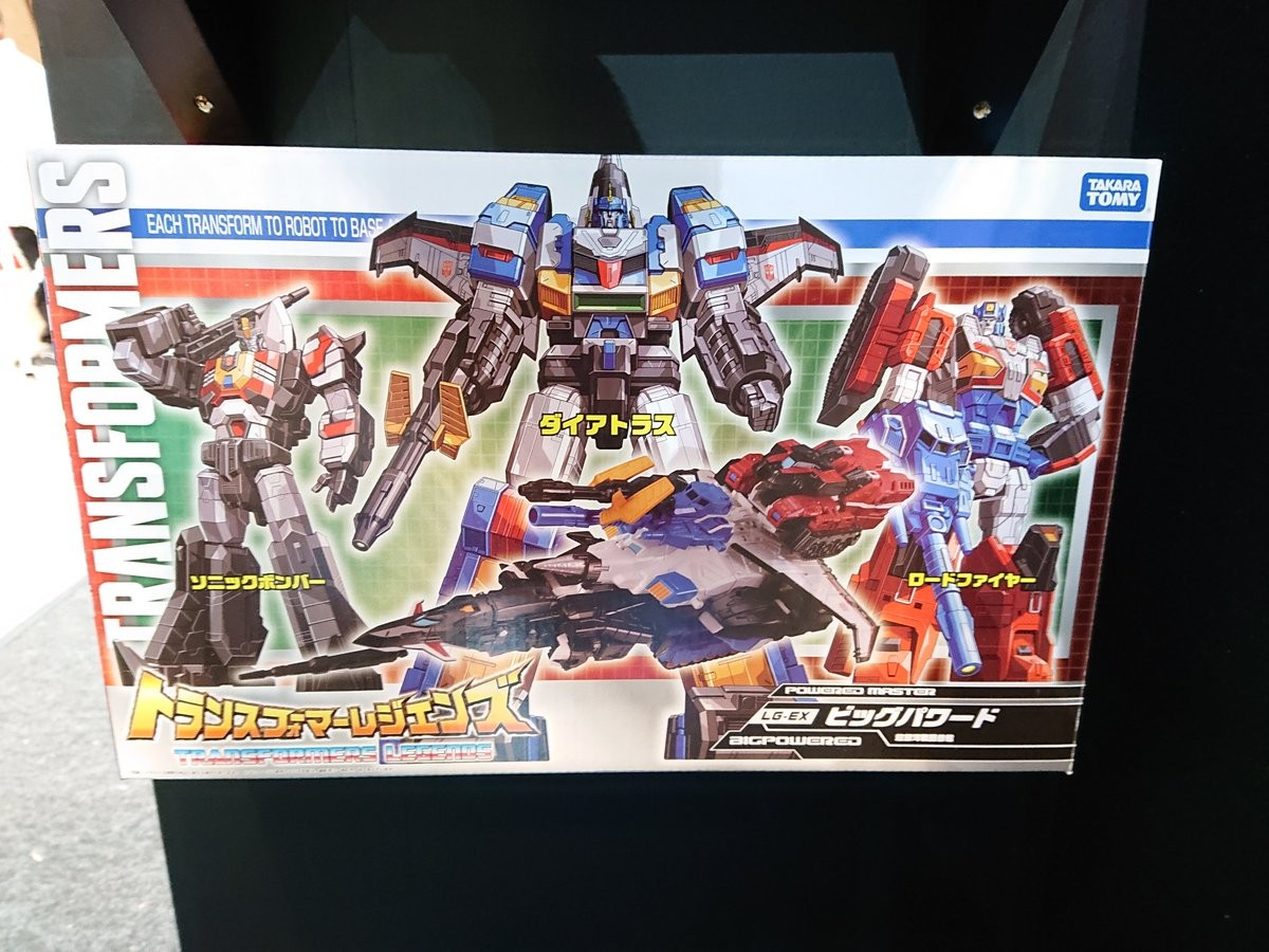 Transformers News: Legends Big Powered previewed ahead of release at Wonder Festival 2019 Winter