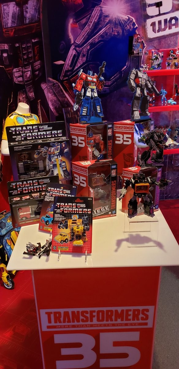 Transformers News: Hasbro prepares for Transformers 35th anniversary with potential new subline