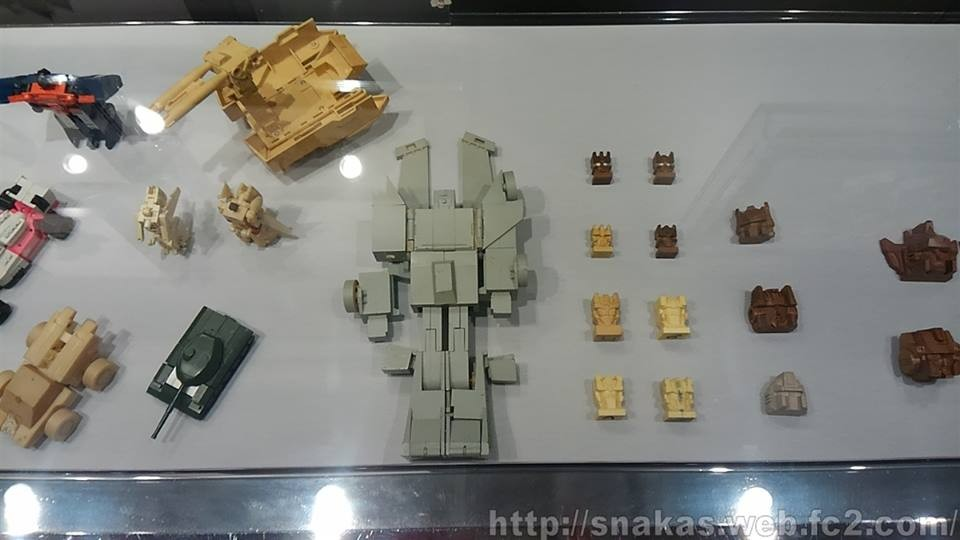 Transformers News: Rare prototypes and art pieces shown at Transformers museum exhibition