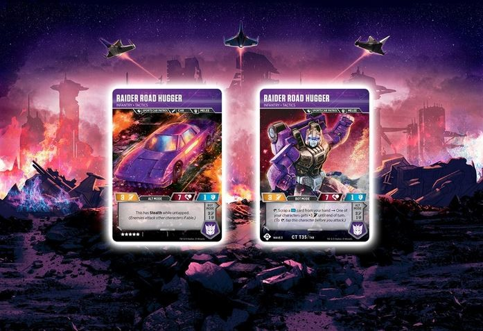 Transformers News: New Cards Revealed for Wizards of the Coast Transformers Trading Card Game