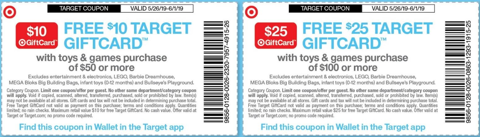 Transformers News: Steal of a Deal: Still Time to Earn a $10 or $25 Gift Card at Target