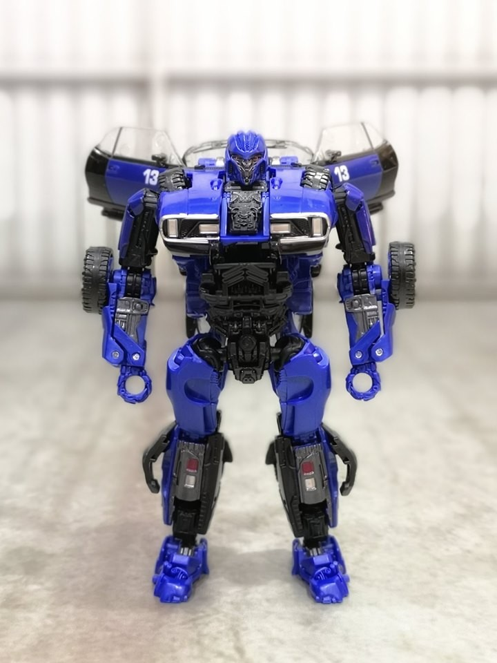 Transformers News: In Hand Images of Transformers Studio Series DOTM Optimus Prime And Car Mode Dropkick
