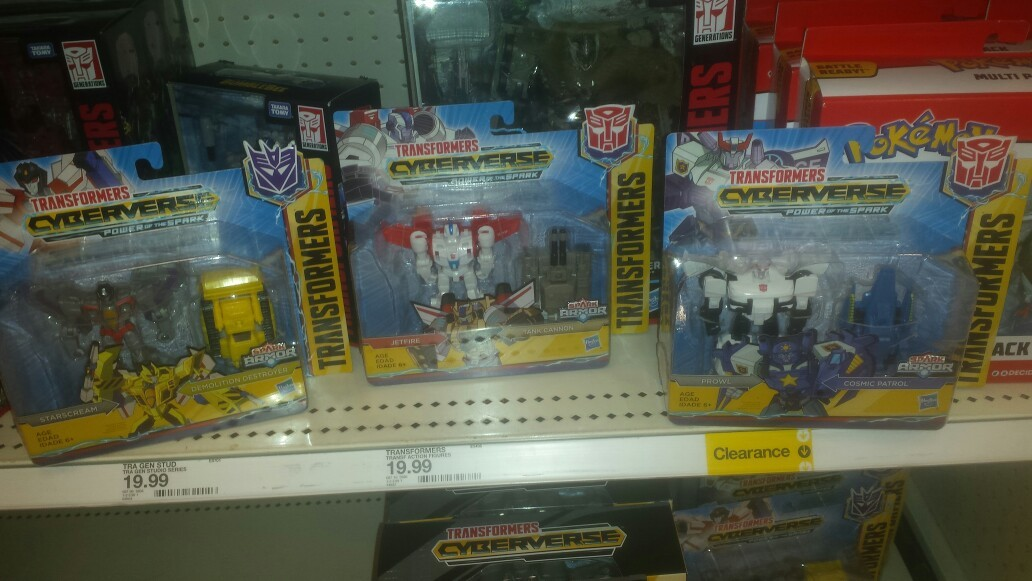 Transformers News: Transformers Cyberverse Battle Class Spark Armor Wave 1 Found At US Retail