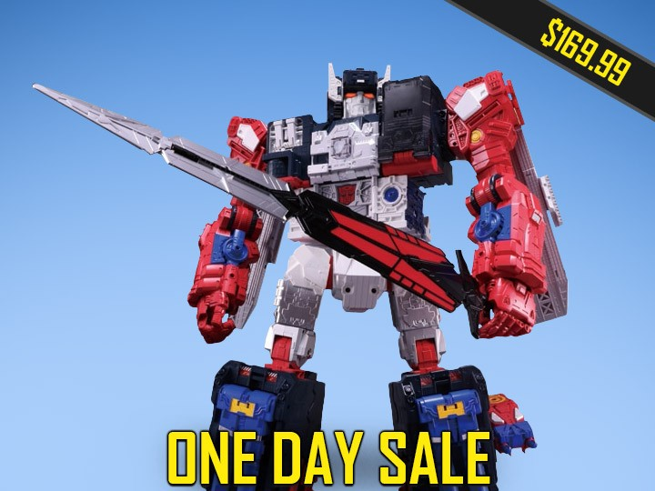 Transformers News: Steal of a Deal: Legends LG-EX Grand Maximus for $169.99 on BBTS