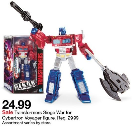 Transformers For Sale >> Siege Voyagers On Sale This Week At Target Plus Bonus