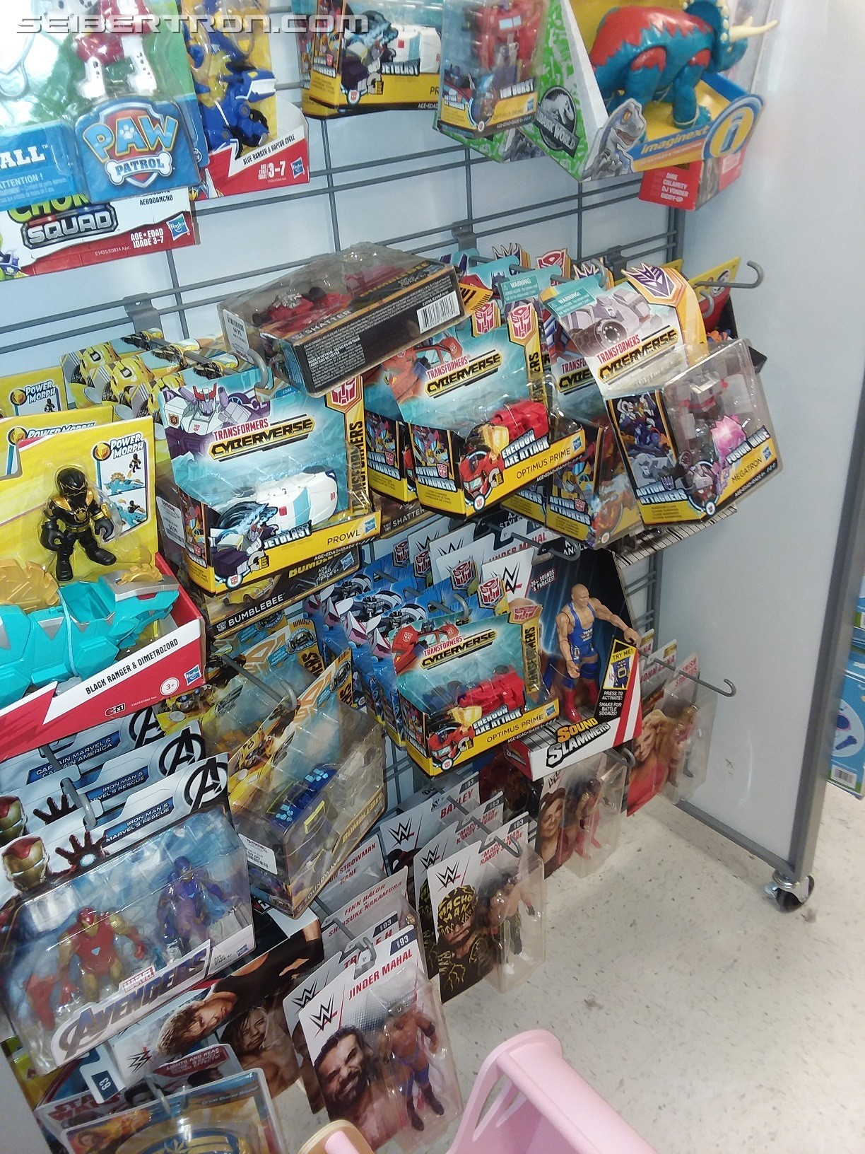 Transformers News: Cyberverse Figures Become Surprisingly Well Stocked at T.J.Maxx