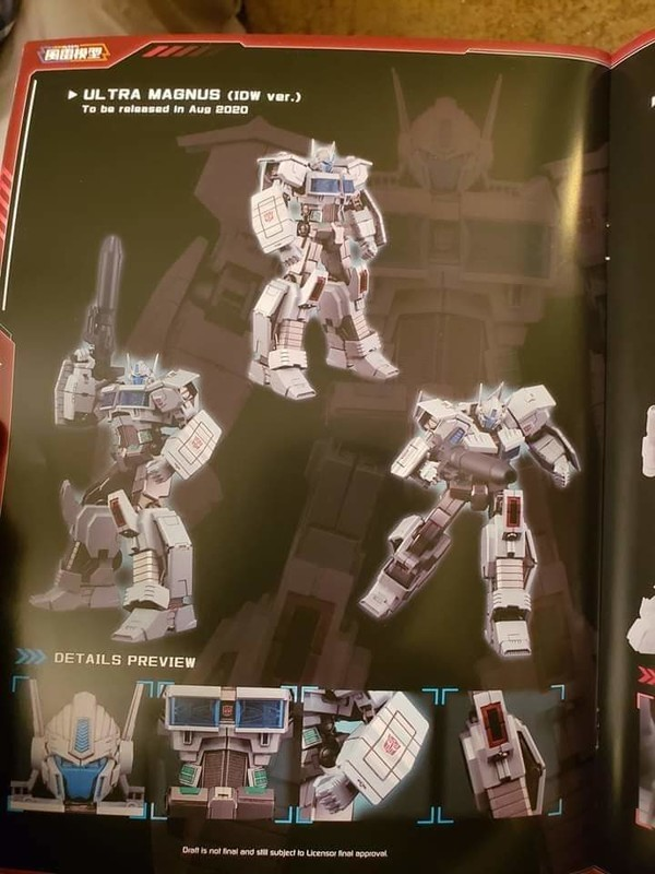 Transformers News: First Look at Furai Model Red Bumblebee and IDW Ultra Magnus