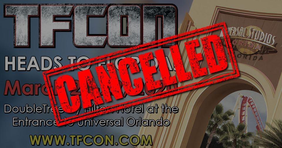 Transformers News: TFcon 2020 Orlando Canceled