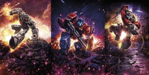 Transformers News: First Images of Transformers War for Cybertron: Siege Optimus Prime, Sideswipe, Battle Master Firedrive #HasbroSDCC