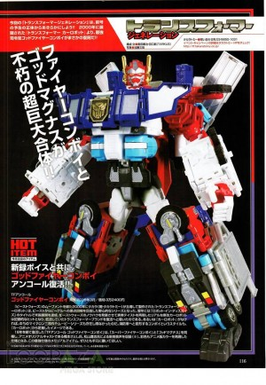 More Images of Takara Tomy Transformers Encore God Fire Convoy (RID Omega Prime)