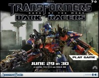 Transformers News: New Transformers DOTM Online Game from Addicting Games: Transformers 3: Dark Racers