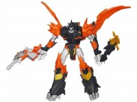 Transformers News: Transformers Prime Beast Hunters Voyager Predaking Robot Mode Revealed