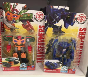 Transformers News: Robots in Disguise (2015) Bludgeon and Thermidor sighted at Singapore retail