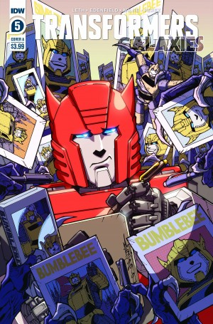 IDW Transformers: Galaxies #5 Review
