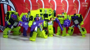 Video Review - Transformers Generations Combiner Wars Devastator: The Constructicons