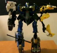 Transformers News: Video Review of Power Core Combiners 5-Pack Skyburst