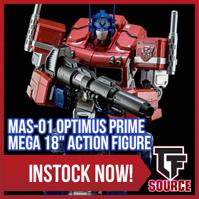 TFsource Weekend Update! MP-36 Megatron & MP-10 Instock, Legends, Baldigas, MAS-01 Prime & More!