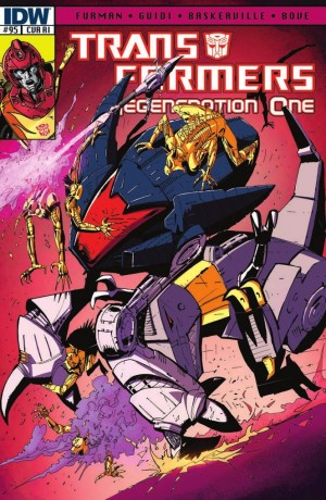 Transformers News: IDW Transformers: ReGeneration One #95 Review