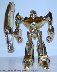 Toy Images of Lucky Draw Transformers Animated Megatron Gold Version
