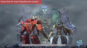 Australian Transformers Titans Return TV Advertisement