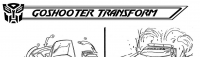 Transformers News: Ark Addendum:  Go Shooter's Transformation