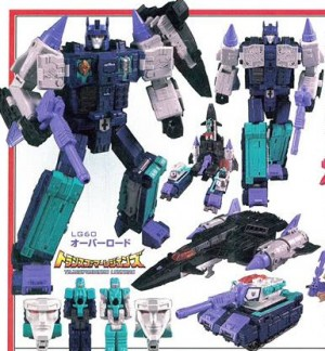 More Images of Takara Tomy Transformers Legends Clone Bot Set, Blitzwing, Overlord