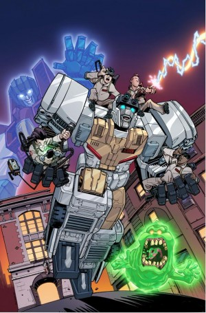Transformers News: IDW Transformers x Ghostbusters Art by Nick Roche Revealed in Full