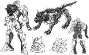 1995 McDonalds Toy Documents Reveal Early Development Concepts for Beast Wars