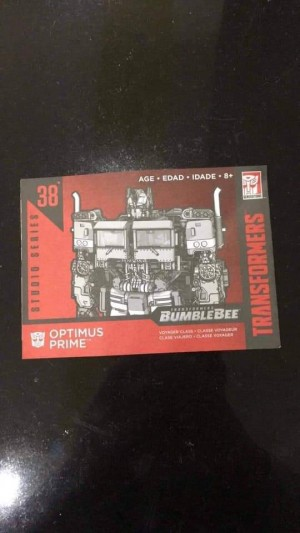 Transformers News: Rumour: Transformers Bumblebee Movie Optimus Prime Studio Series Toy Leaked